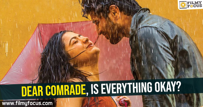Dear Comrade Movie, Vijay Devarakonda, Rashmika Mandanna