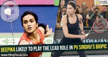 Deepika, PV Sindhu's biopic, PV Sindhu, Sonu Sood, Deepika Padukone