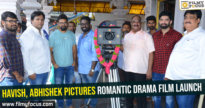 havish-abhishek-pictures-romantic-drama-movie-launch