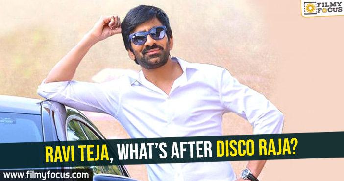 Ravi Teja, Disco Raja Movie,