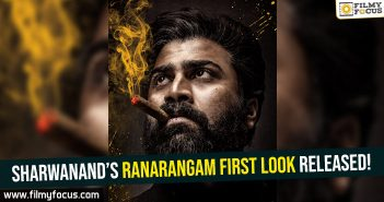 sharwanands-ranarangam-first-look-released