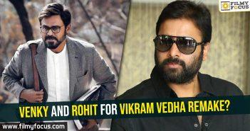 Venkatesh, Nara Rohit, Vikram Vedha Movie, R Madhavan, Vijay Sethupathi, Shraddha Srinath