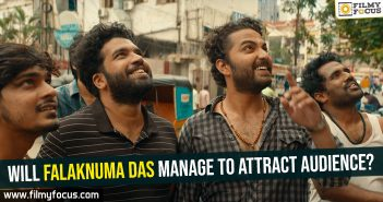 actor Victory Venkatesh, director of Pellichoopulu, Falaknuma Das Movie, Falaknuma Das trailer, Malayalam blockbuster film Angamaly Diaries, Tharun Bhascker, trailer of Falaknuma Das, Vishwak Sen, Will Falaknuma Das manage to attract audience?