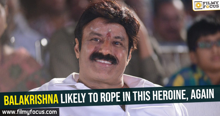balakrishna-likely-to-rope-in-this-heroine-again