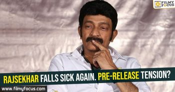 rajsekhar-falls-sick-again-pre-release-tension