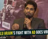 Allu Arjun's fight with AD goes viral