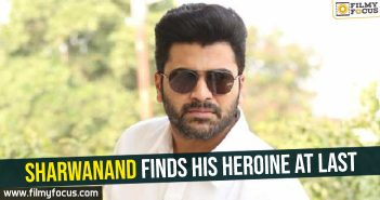 sharwanand-finds-his-heroine-at-last