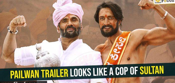 Pailwan trailer looks like a cop of Sultan