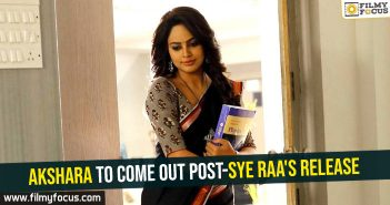 akshara-to-come-out-post-sye-raas-release
