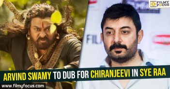 arvind-swamy-to-dub-for-chiranjeevi-in-sye-raa