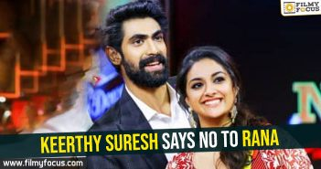 keerthy-suresh-says-no-to-rana