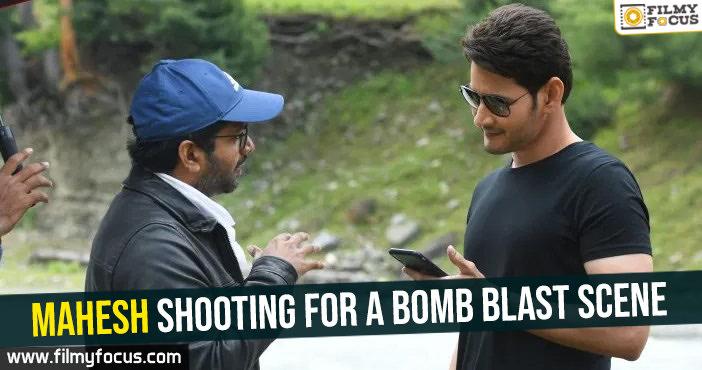 mahesh-shooting-for-a-bomb-blast-scene
