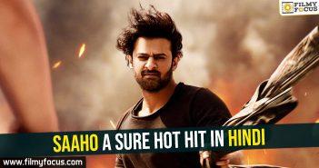 Saaho's Hindi break-even figures are here - Filmy Focus