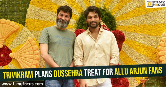 trivikram-plans-dussehra-treat-for-allu-arjun-fans