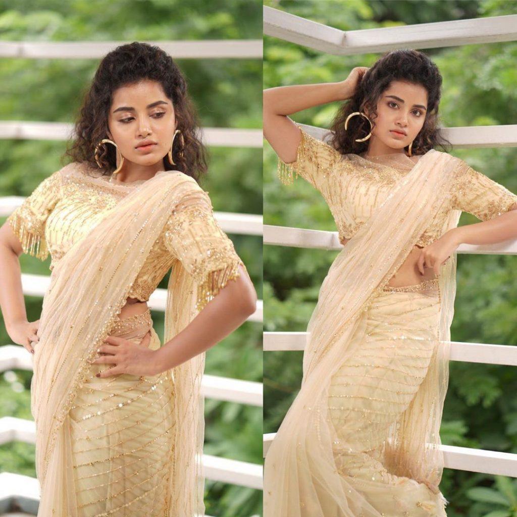 anupama-parameswaran-in-saree