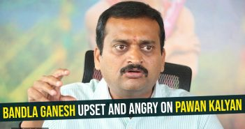 Bandla Ganesh upset and angry on Pawan Kalyan