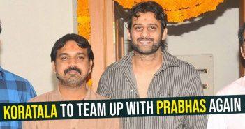 Koratala to team up with Prabhas again