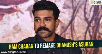 Ram Charan to remake Dhanush's Asuran