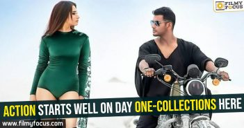 Action starts well on day one-Collections here