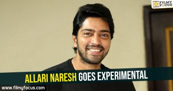 Allari Naresh goes experimental