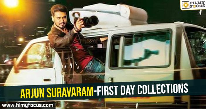 Arjun Suravaram-First day collections