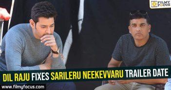 Dil Raju fixes Sarileru Neekevvaru trailer date