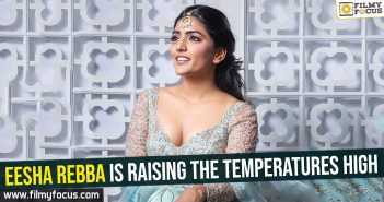 Eesha Rebba is raising the temperatures high