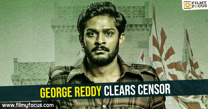 George Reddy clears censor
