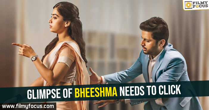 Glimpse of Bheeshma needs to click