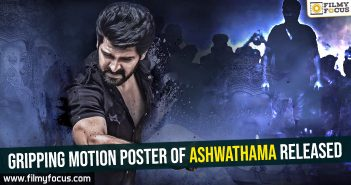 Gripping motion poster of Ashwathama released
