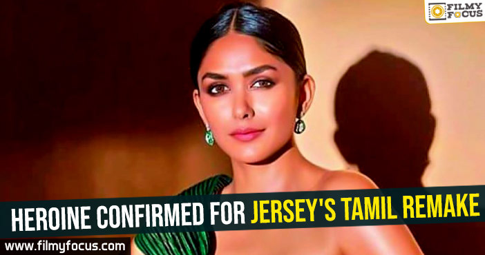 Heroine confirmed for Jersey's Tamil remake
