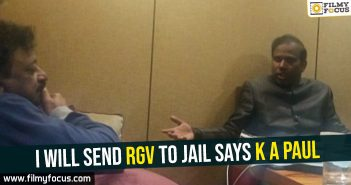 I will send RGV to jail says K A Paul