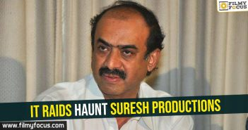 IT Raids haunt Suresh Productions