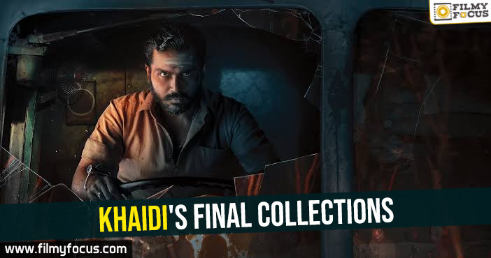 Khaidi's final collections in AP TG