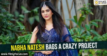 Nabha Natesh bags a crazy project