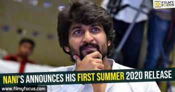 Nani's announces his first summer 2020 release