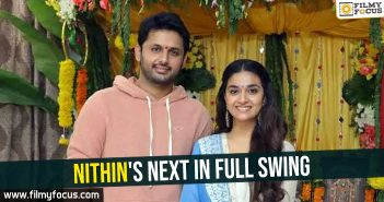 Nithin's next in full swing