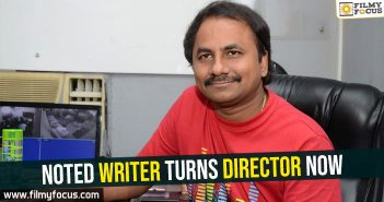 Noted writer turns director now