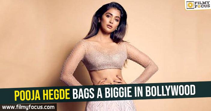 Pooja Hegde bags a biggie in Bollywood