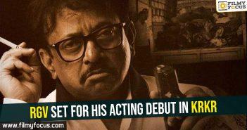 RGV set for his acting debut in KRKR