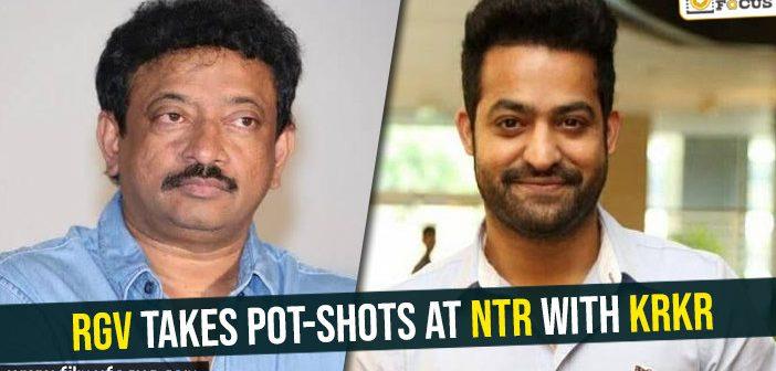 RGV takes pot-shots at NTR with Kamma Rajyamlo Kadapa Redlu