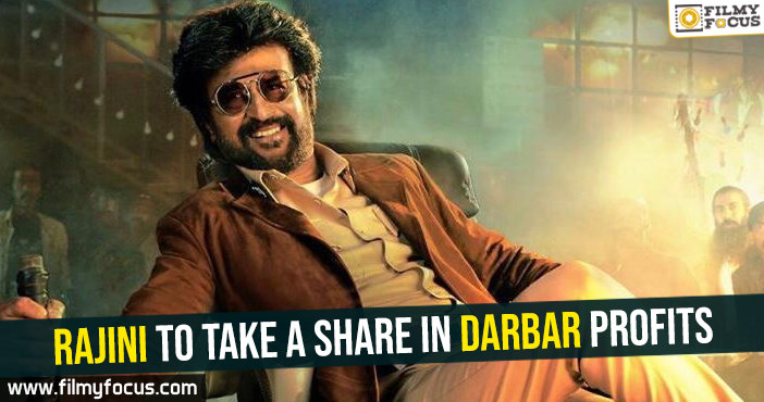 Rajini to take a share in Darbar profits
