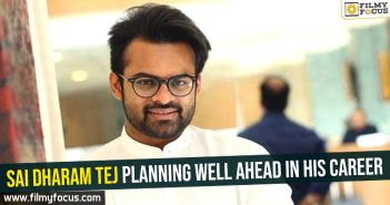Sai Dharam Tej planning well ahead in his career