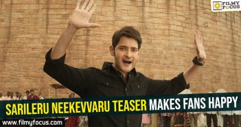 Sarileru Neekevvaru teaser makes fans happy