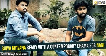 Shiva Nirvana ready with a contemporary drama for Nani