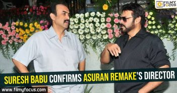 Suresh Babu confirms Asuran remake's director