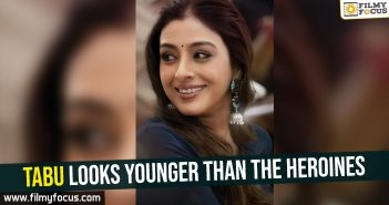 Tabu looks younger than the heroines