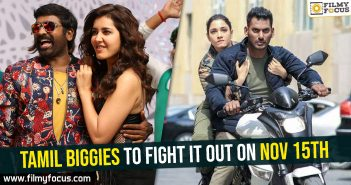 Tamil biggies to fight it out on Nov 15th
