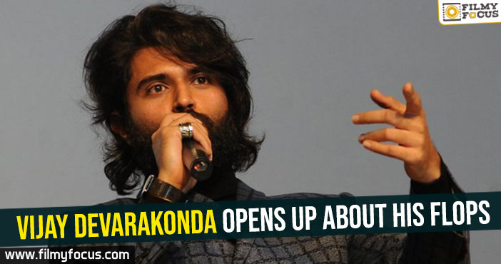 Vijay Devarakonda opens up about his flops