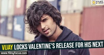 Vijay locks Valentine's release for his next